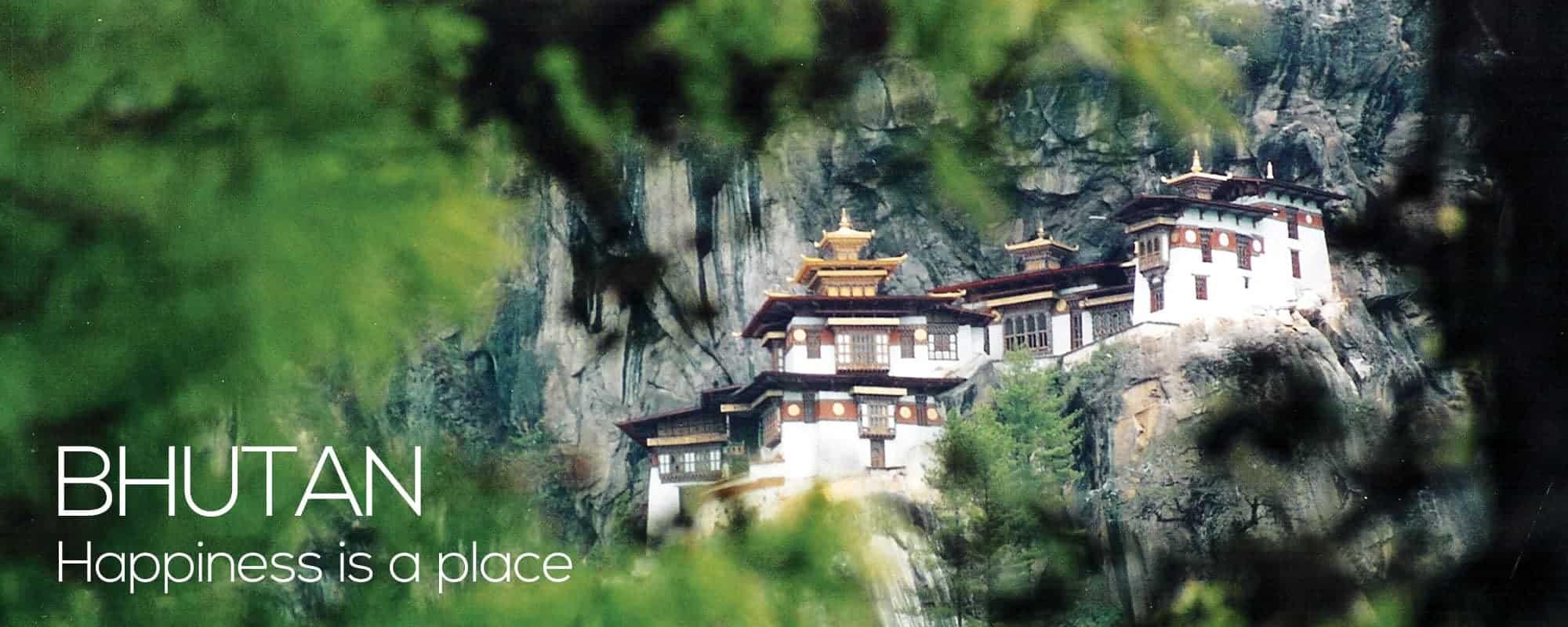 Bhutan bjerg kloster