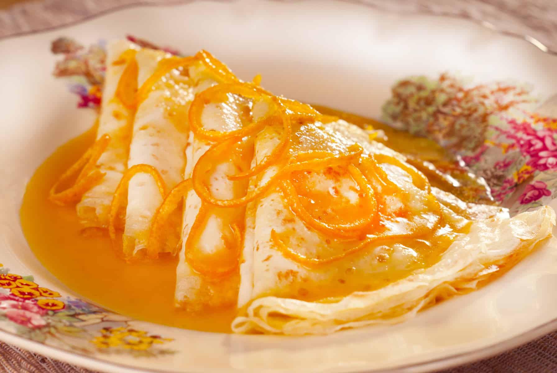 Crepes Suzette, Fransk mad