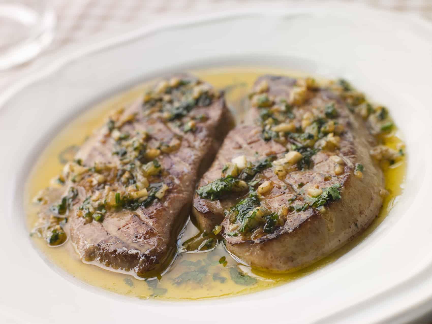 Foie Gras i hvidløgssmør. Klassiker i det franske køkken