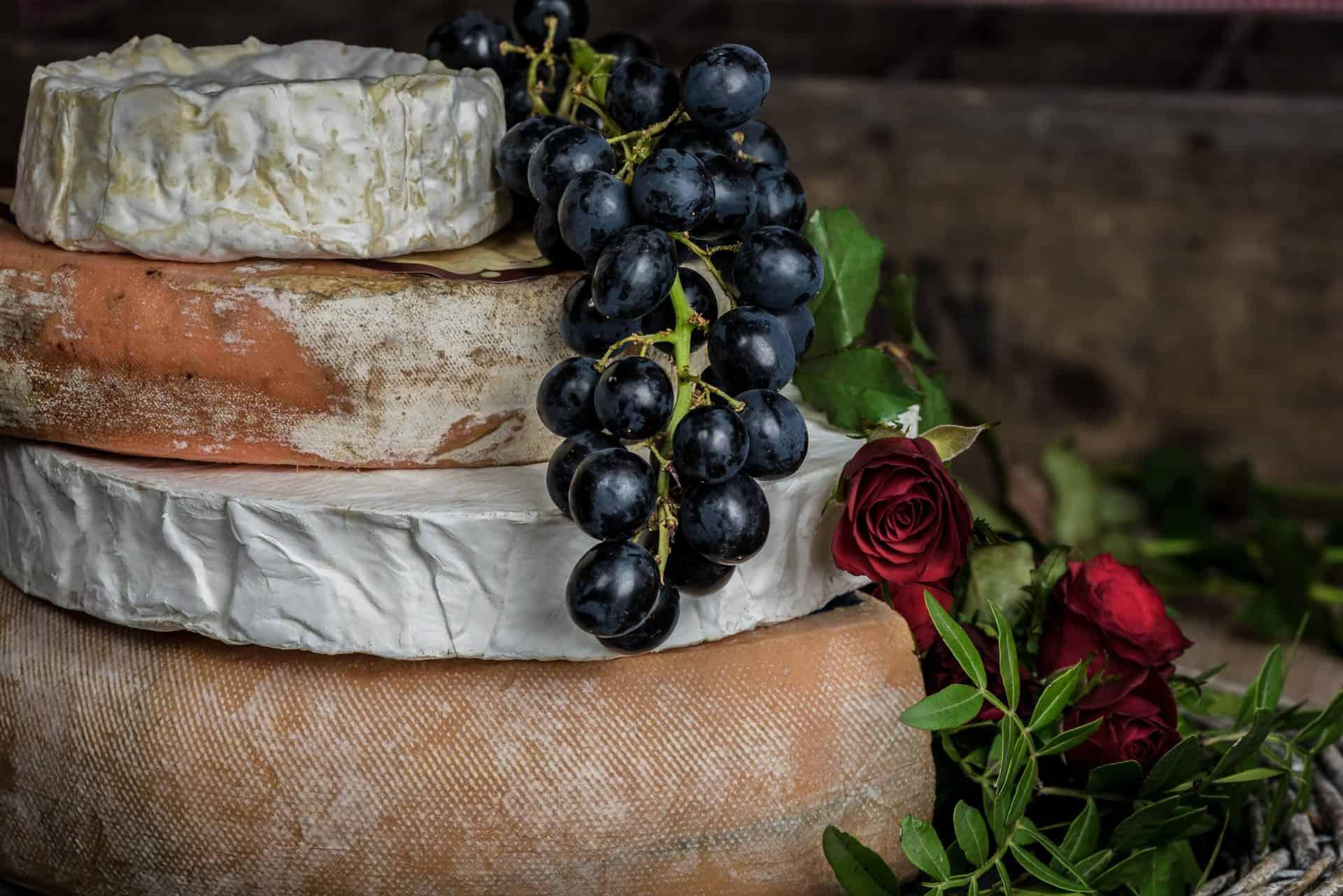 Det franske køkken fra enkelt til ekstravagant. Franske oste, udvalg
