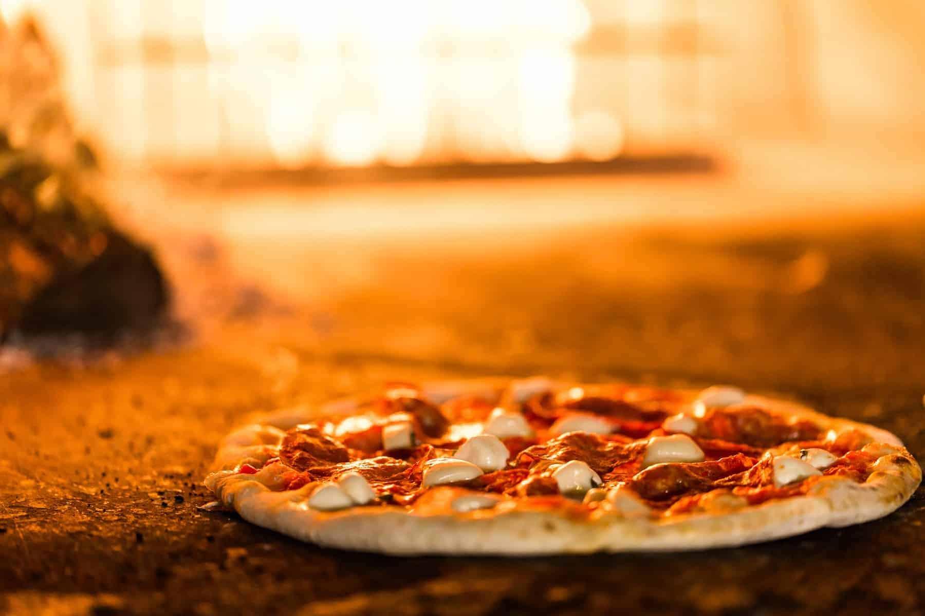 Italiensk pizza fra Napoli