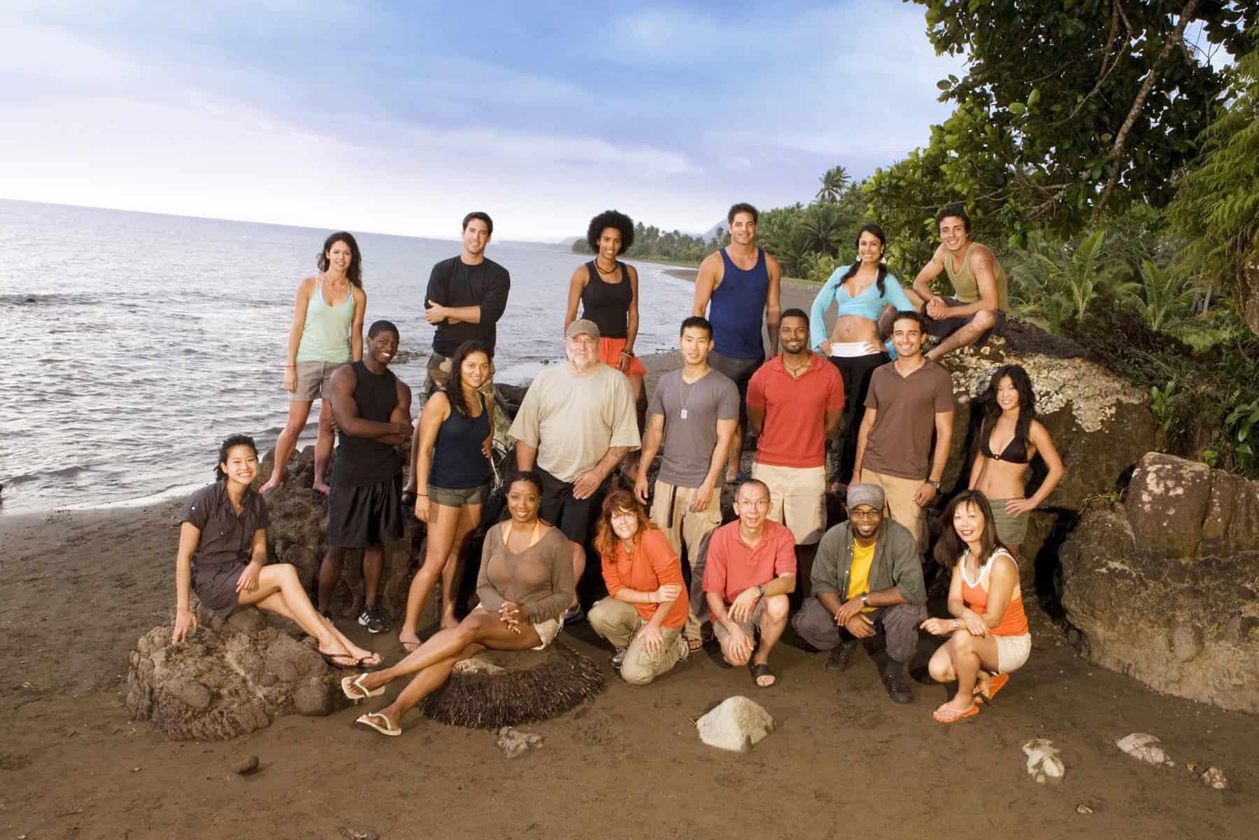 Fiji Contestants Survivor