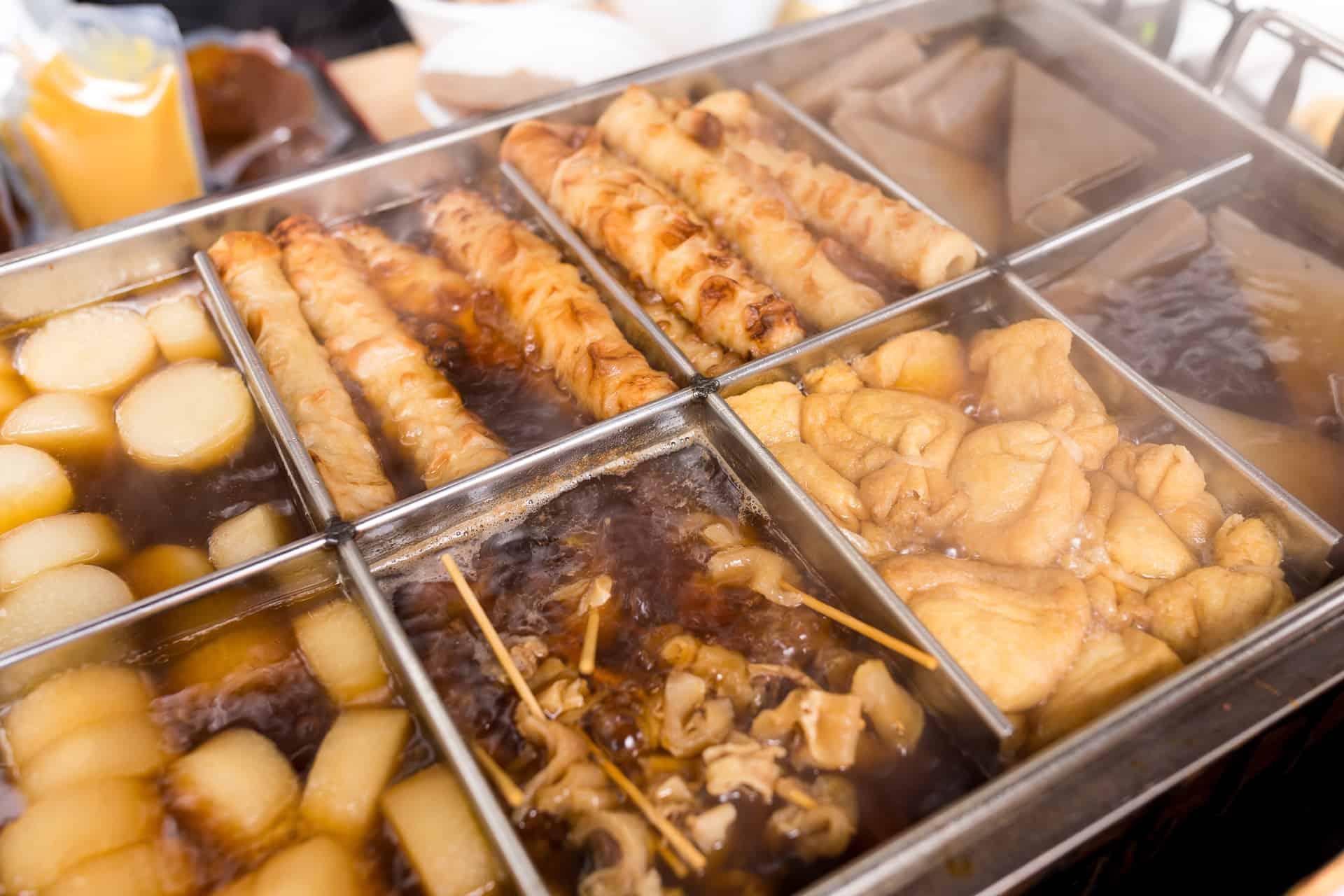 Oden japansk mad
