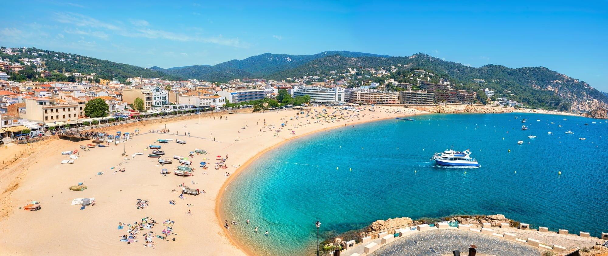 Tossa de Mar. Costa Brava, Catalonia, Spain. Vacanceselect